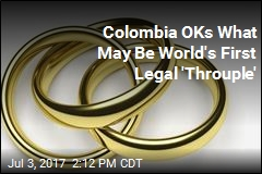 Colombia OKs What May Be World's First Legal 'Throuple'