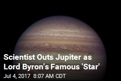 Lord Byron's 'Single Star' Was Probably Jupiter