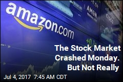 No, Amazon Stock Didn't Crash Monday