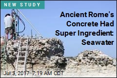 Ancient Rome's Concrete Stronger Now Than When It Was Made