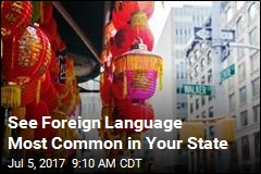 See Foreign Language Most Common in Your State
