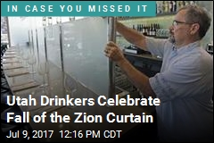 Utah Drinkers Celebrate Fall of the Zion Curtain