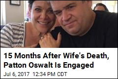 15 Months After Wife's Death, Patton Oswalt Is Engaged