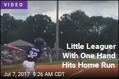Little Leaguer With One Hand Hits Home Run