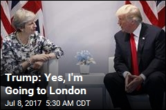 Trump: Yes, I'm Going to London
