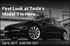 First Look at Tesla's Model 3 Is Here