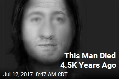 This Is the Face of a Man Who Lived 4.5K Years Ago