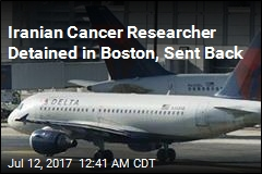 Iranian Cancer Researcher Detained at Airport, Sent Back