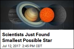Scientists Just Found Wimpiest Star in the Galaxy