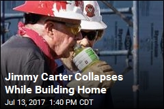 Jimmy Carter Hospitalized While Building Home in Canada