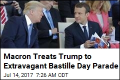 Trump, Macron Take in Elaborate Bastille Day Parade