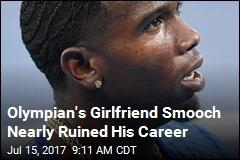 Olympian's Girlfriend Smooch Nearly Ruined His Career