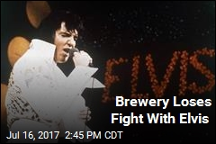 Elvis' Estate Wins a Beer Fight