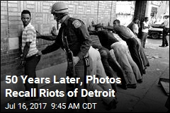 50 Years Later, Photos Recall Riots of Detroit