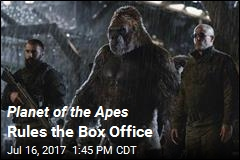 Planet of the Apes Rules the Box Office