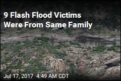 9 Flash Flood Victims Were From Same Family