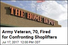 Army Veteran, 70, Fired for Confronting Shoplifters