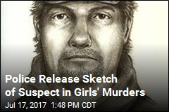 Police Release Sketch of Suspect in Girls' Murders