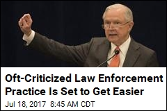 Jeff Sessions to Make It Easier for Cops to Seize Property