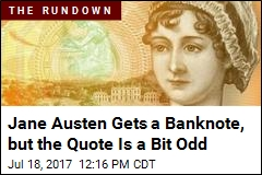 New Jane Austen Banknote Has a Curious Quote