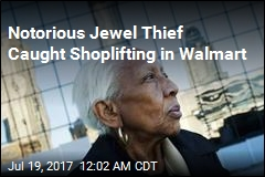 Cops: Notorious Jewel Thief Busted for Walmart Shoplifting