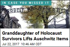 Granddaughter of Holocaust Survivors Lifts Auschwitz Items
