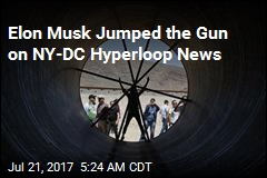Musk Claims NY-DC Hyperloop Tunnel Has Been Approved