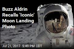 Buzz Aldrin Recalls 'Iconic' Moon Landing Photo