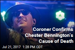Chester Bennington Died by Hanging, Coroner Confirms