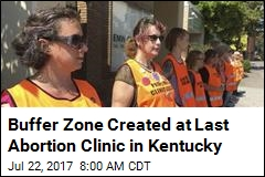 Influx of Protests Planned at Kentucky's Last Abortion Clinic