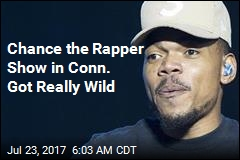 Chance the Rapper Show in Conn. Got Really Wild