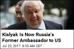 Russian Ambassador Kislyak Heads Back to Moscow