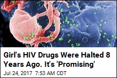 After 8 Years With No Drugs, Girl's HIV Still Under Control