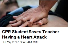 CPR Student Saves Teacher Having a Heart Attack