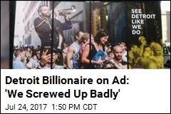 Detroit Billionaire Sorry About This 'Tone-Deaf' Ad