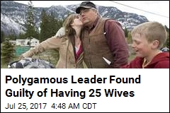 Polygamous Leader Found Guilty of Having 25 Wives