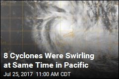 First Time in 4 Decades: Pacific Had 8 Cyclones