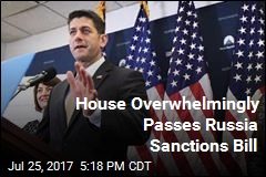 House Overwhelmingly Passes Russia Sanctions Bill