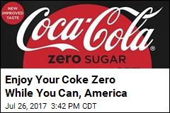 Goodbye, Coke Zero. Hello, Coca-Cola Zero Sugar
