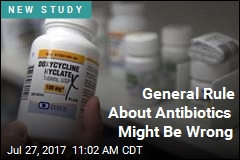 General Rule About Antibiotics Might Be Wrong