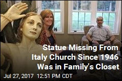 Family's Odd Heirloom Went Missing From Italy Church in 1946