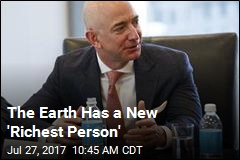 The Earth Has a New 'Richest Person'