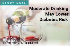 Moderate Drinking May Lower Diabetes Risk