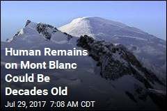 2 Planes Crashed on Mont Blanc Decades Ago. Now, Remains Found