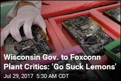 Wisconsin Foxconn Plant Would Be 3 Times Size of Pentagon