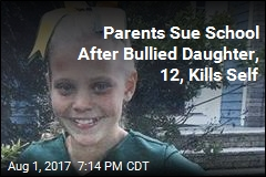 Parents Sue School Over 12-Year-Old Daughter's Suicide