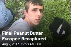 Final Peanut Butter Escapee Recaptured