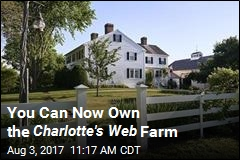 You Can Now Own the Charlotte's Web Farm