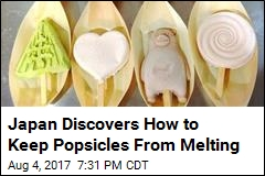 Japan Discovers How to Keep Popsicles From Melting