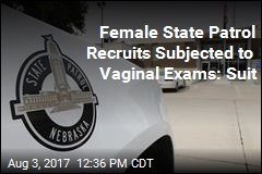 Female State Patrol Recruits Subjected to Vaginal Exams: Suit